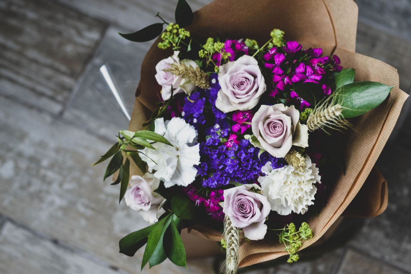 How To Make A Hand Tied Bouquet With Blossom And Tied Beffshuff