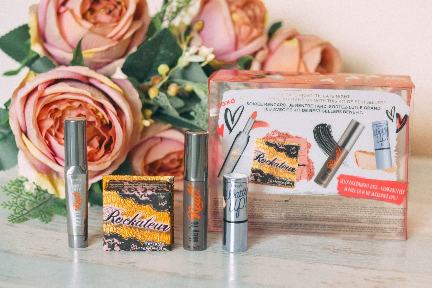 Date Night makeup with Benefit