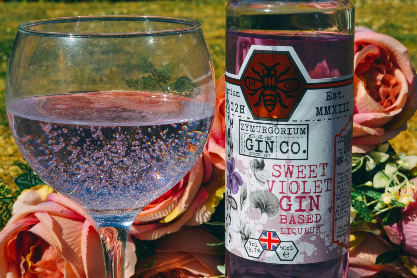 Parma Violet Gin – the perfect summer tipple