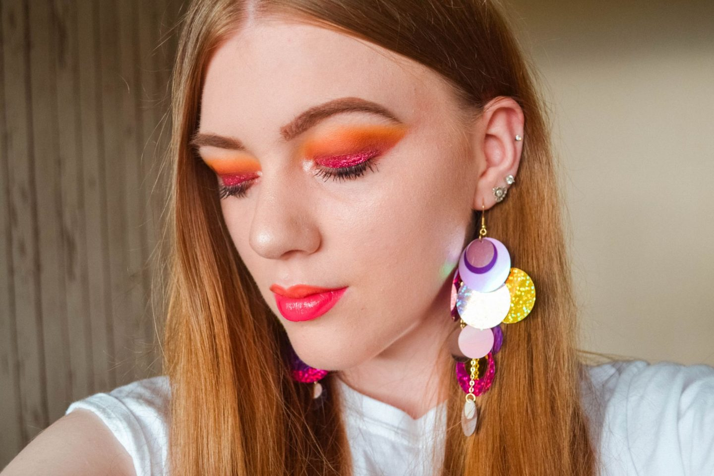 Sunset Eye and Two-Tone Lip