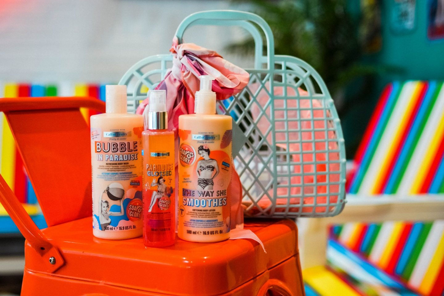 Call of Fruity from Soap and Glory – a brand new range!