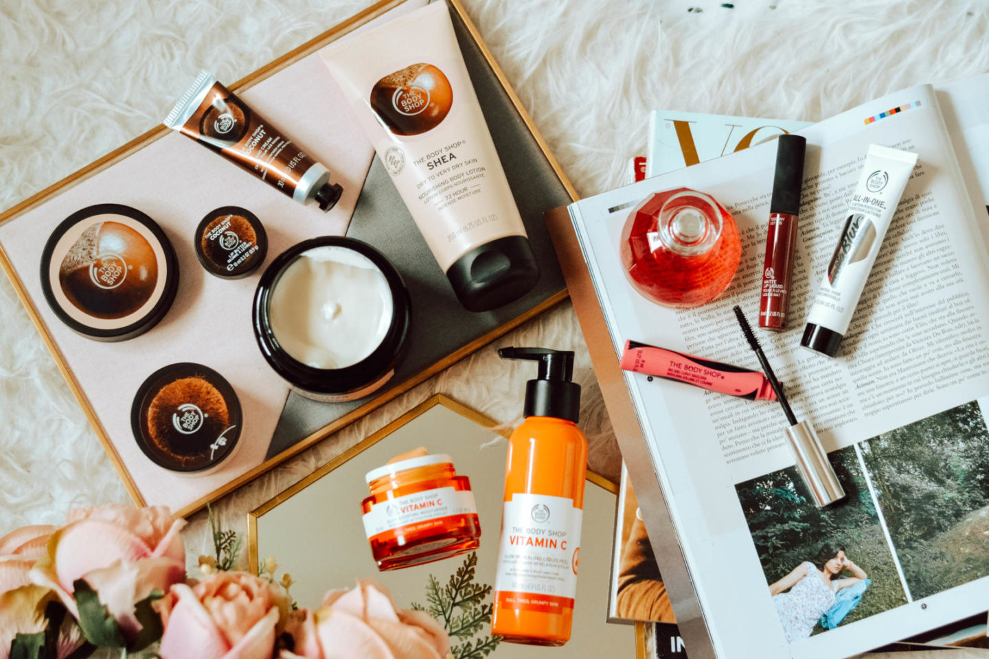 My huge cruelty-free The Body Shop haul