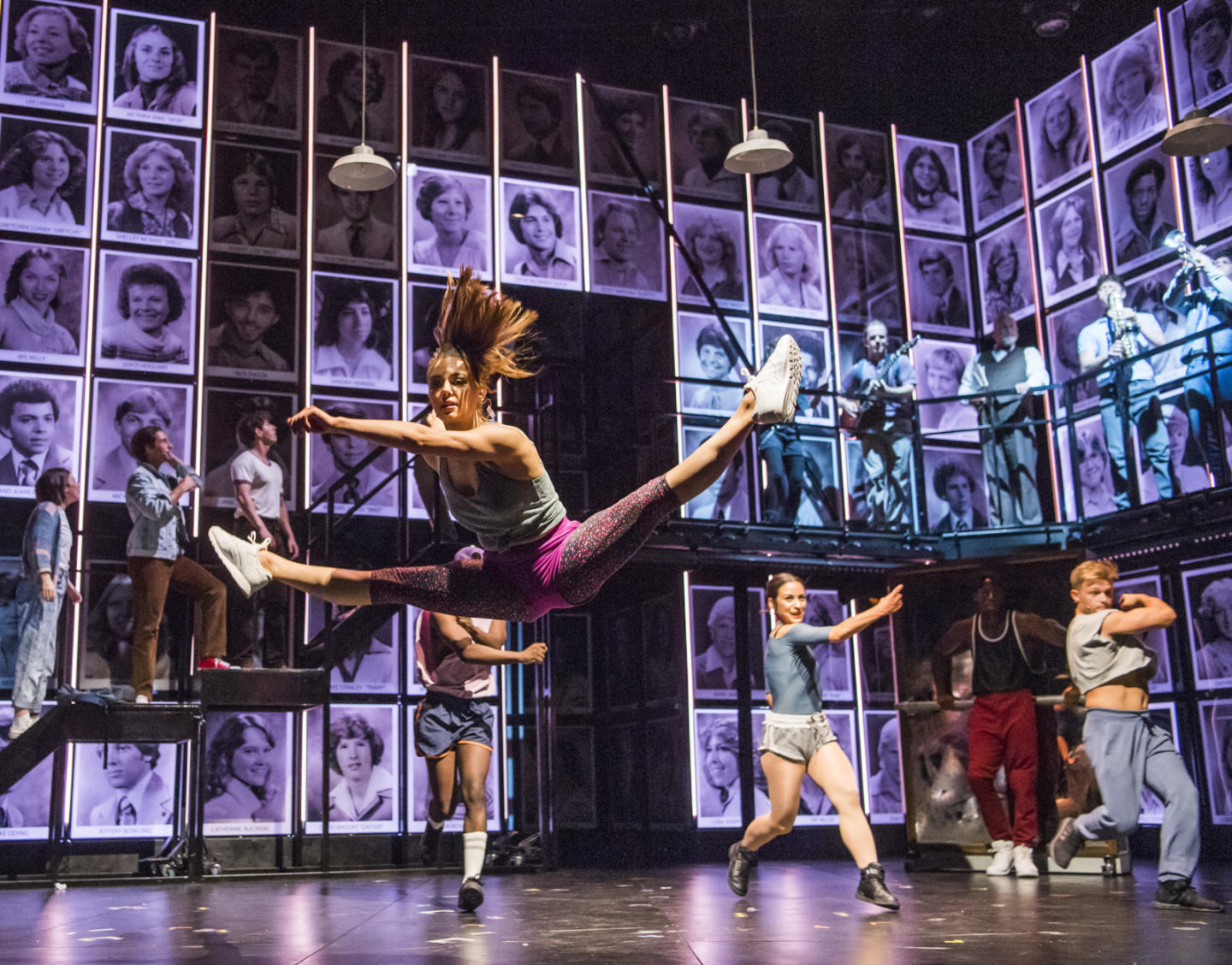 FAME on-stage at The Regent Theatre