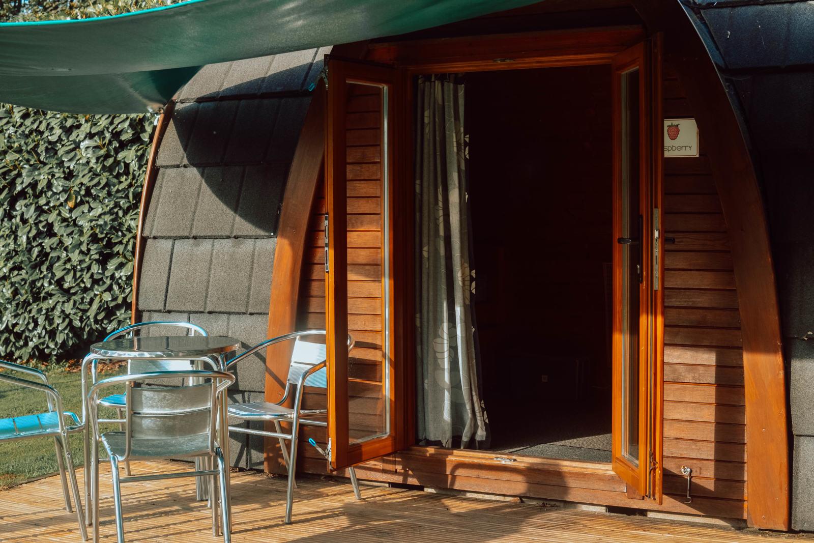 hendra camping pod